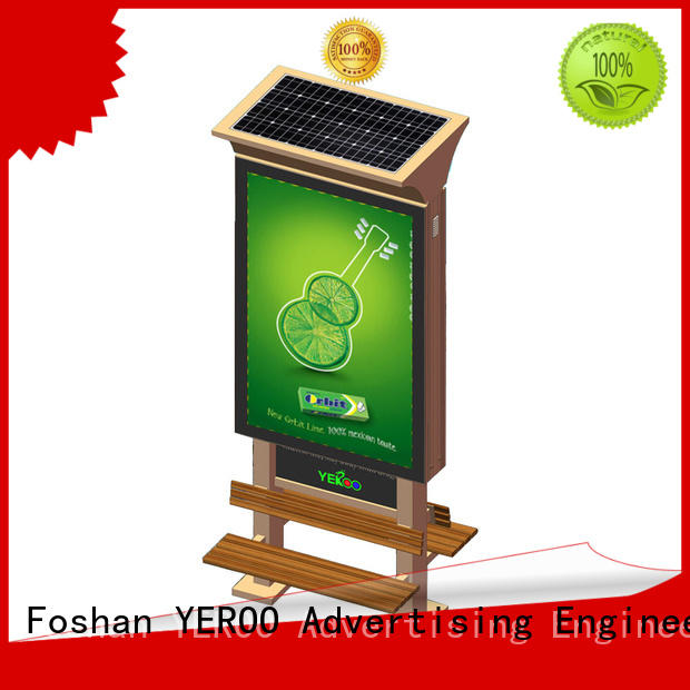 advertising boards order now for sheltering YEROO