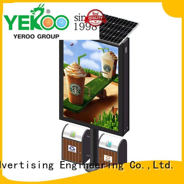 YEROO aluminum light box bulk production for marketing