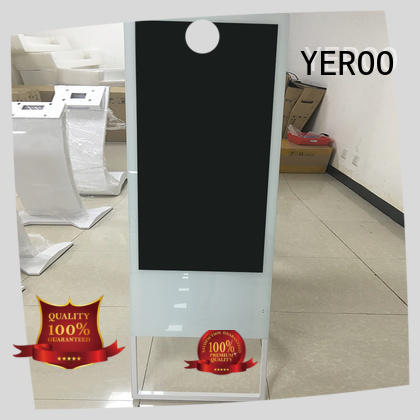 YEROO interactive digital signage displays competitive price for advertising