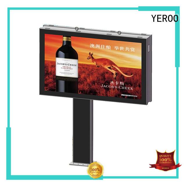 advertising scrolling billboard saving outdoor marketing