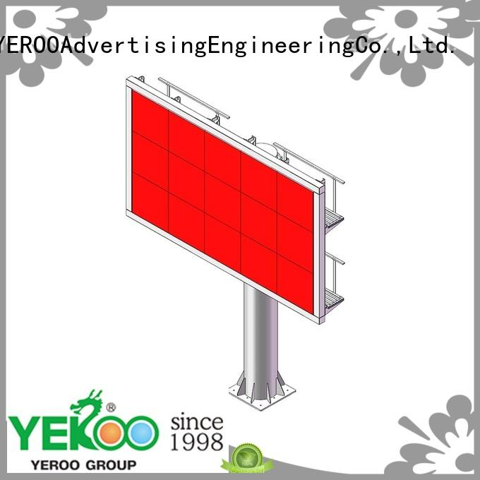 YEROO functional electronic led billboards full for bus stop
