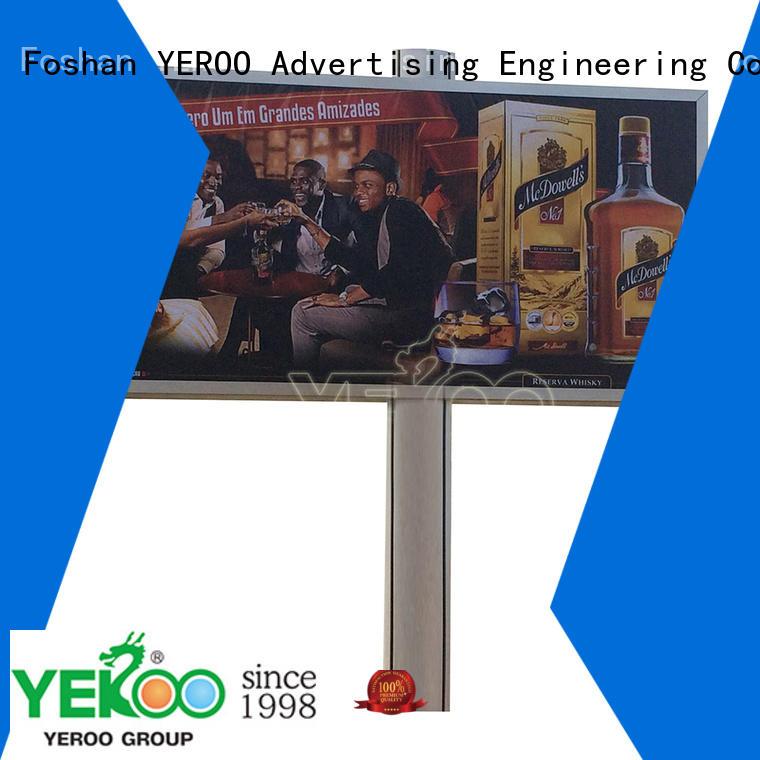 YEROO outdoor billboard functional for highway