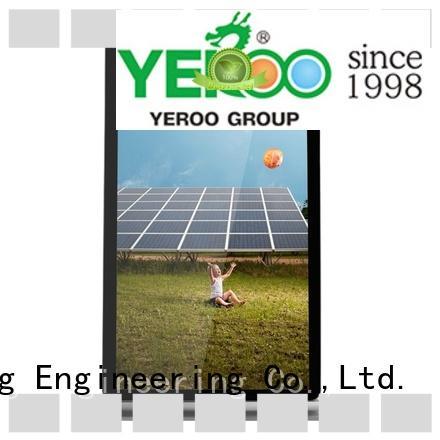 signage lcd advertising display floor for advertising YEROO