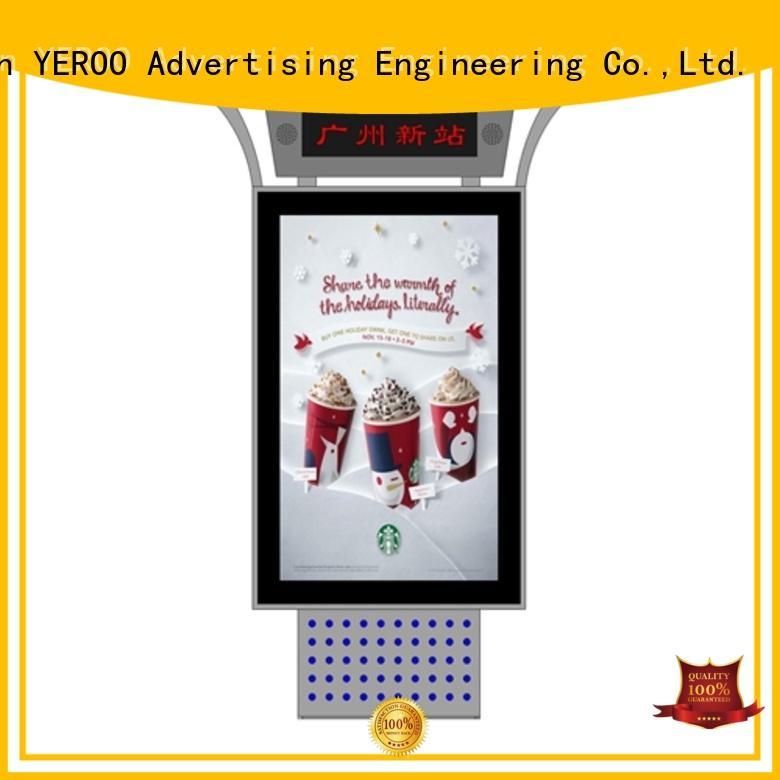 YEROO led screen display energy-saving for floor display
