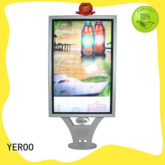YEROO backlit sign box good quality outdoor light