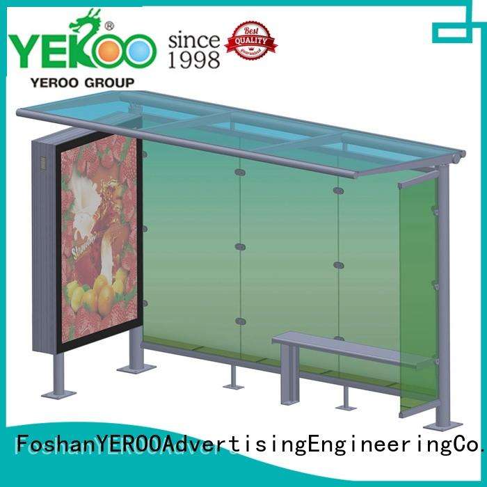 at discount bus stop shelter design bulk production for road