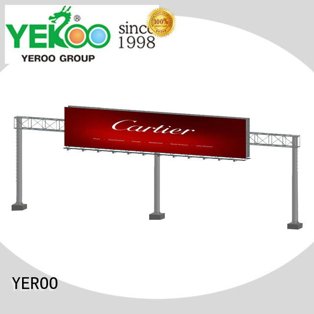 YEROO stand straight billboard stand for super mall