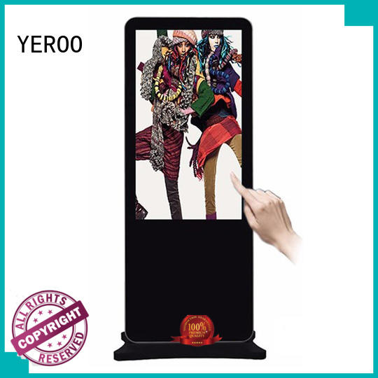 YEROO wall-mounted digital signage display smart shopping for display