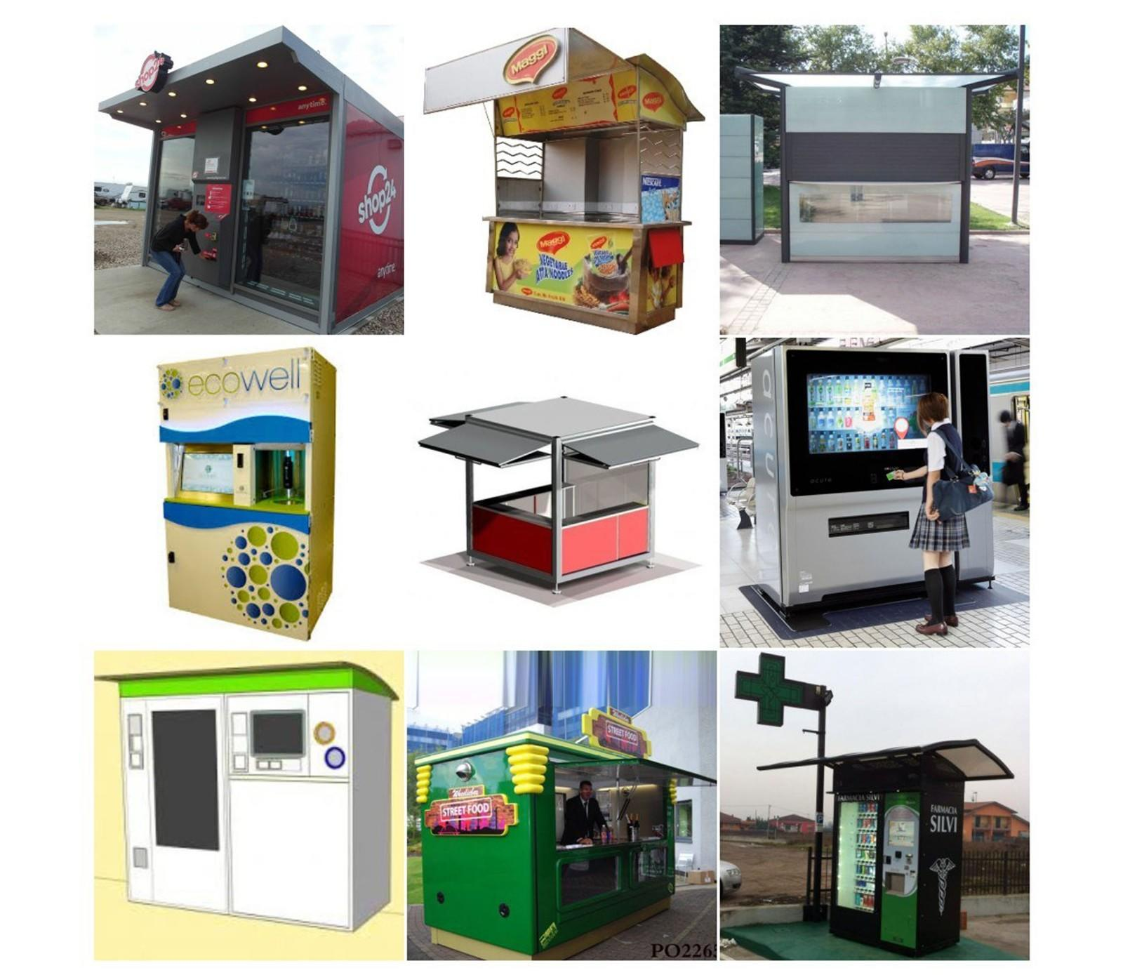 YEROO-Best Pole Led Display Customized Outdoor Advertising Vending Kiosk Manufacture-2