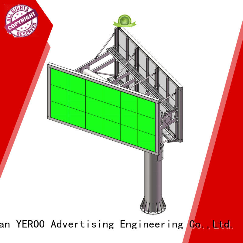chic electronic billboard stainless steel