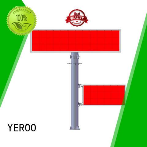 digital outdoor billboard double for parking lot YEROO