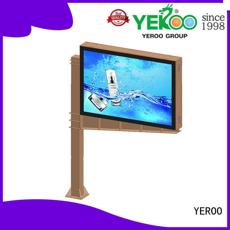 scrolling poster outdoor marketing YEROO