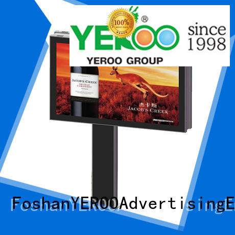 YEROO scrolling scrolling poster display sell for advertising
