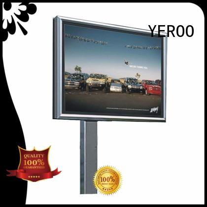 YEROO frontlight scrolling poster ground for highway