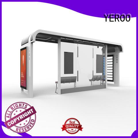 stainless steel smart bus stop customization service