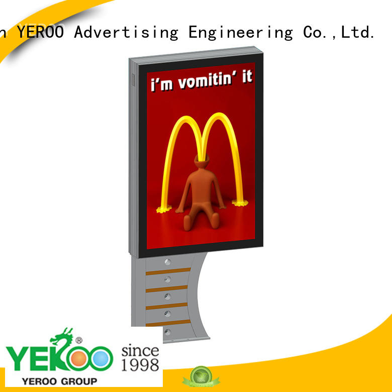 YEROO led light box panels effective outdoor light