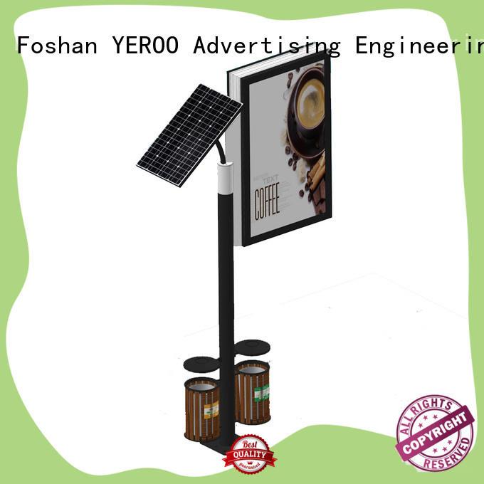 YEROO double sided standing light box energy-saving for marketing