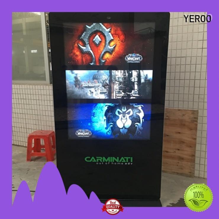 double side outdoor digital totem kiosk