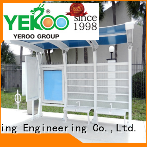 YEROO bus stop shelter design top brand for suburb