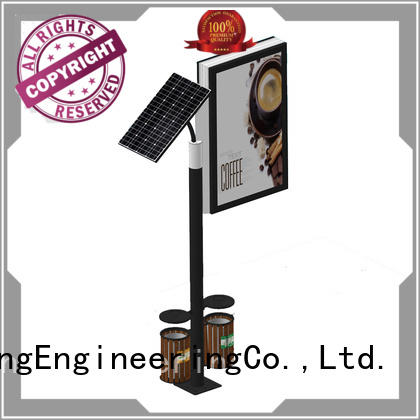 double sided light box stand free design for street ads