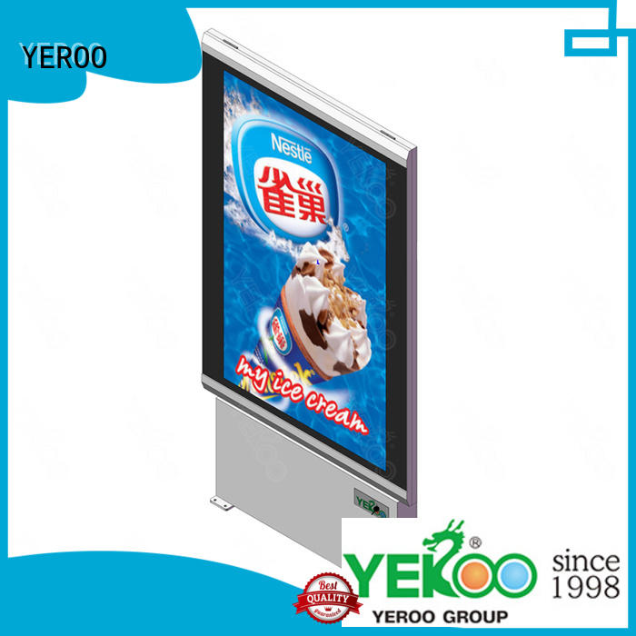 light box display fast installation for market YEROO