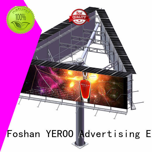 YEROO four sides highway billboards fro market