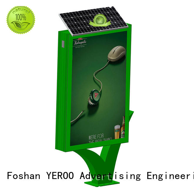 YEROO hot-sale custom light box signs for advertising