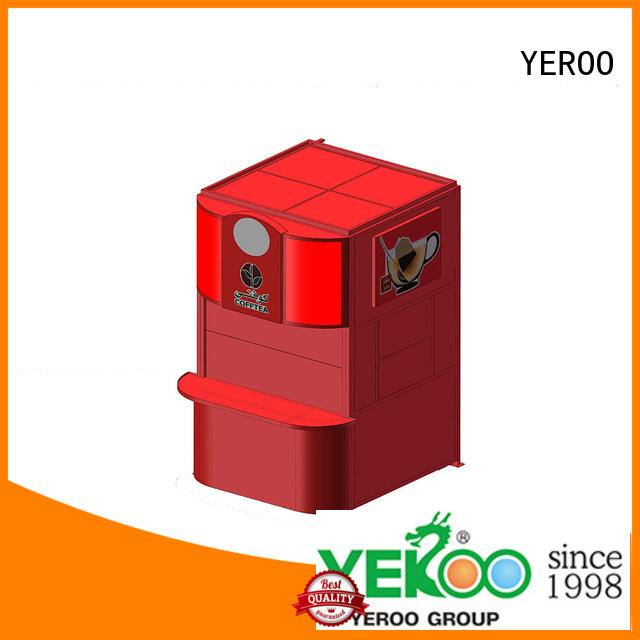 YEROO steel structure pole led display high quality for highway