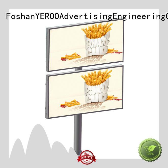 convenient outdoor advertising billboard fast ads outdoor advertising YEROO