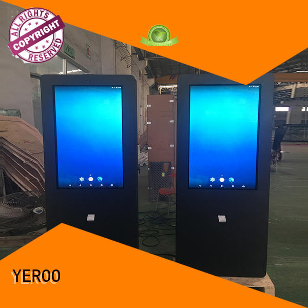 YEROO universal Outdoor LCD display touch for parking lot