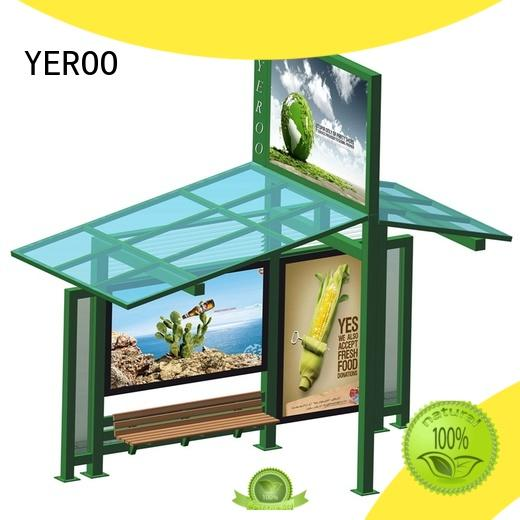 YEROO wholesale bus stop advertising customization service for road
