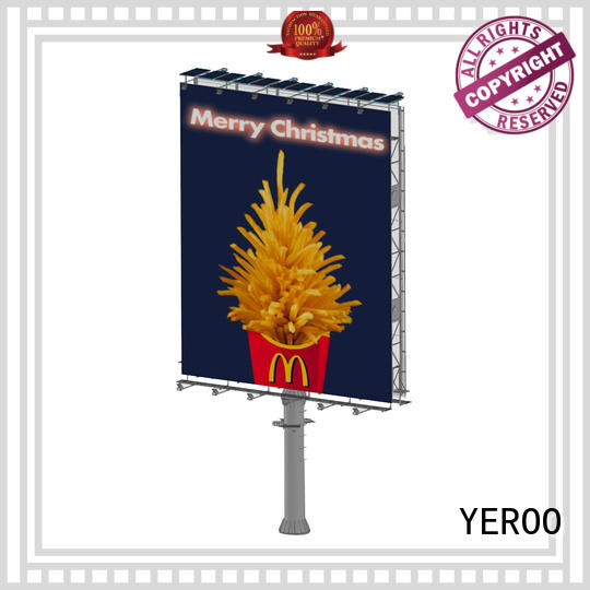 YEROO billboard structure manufacturer for super mall