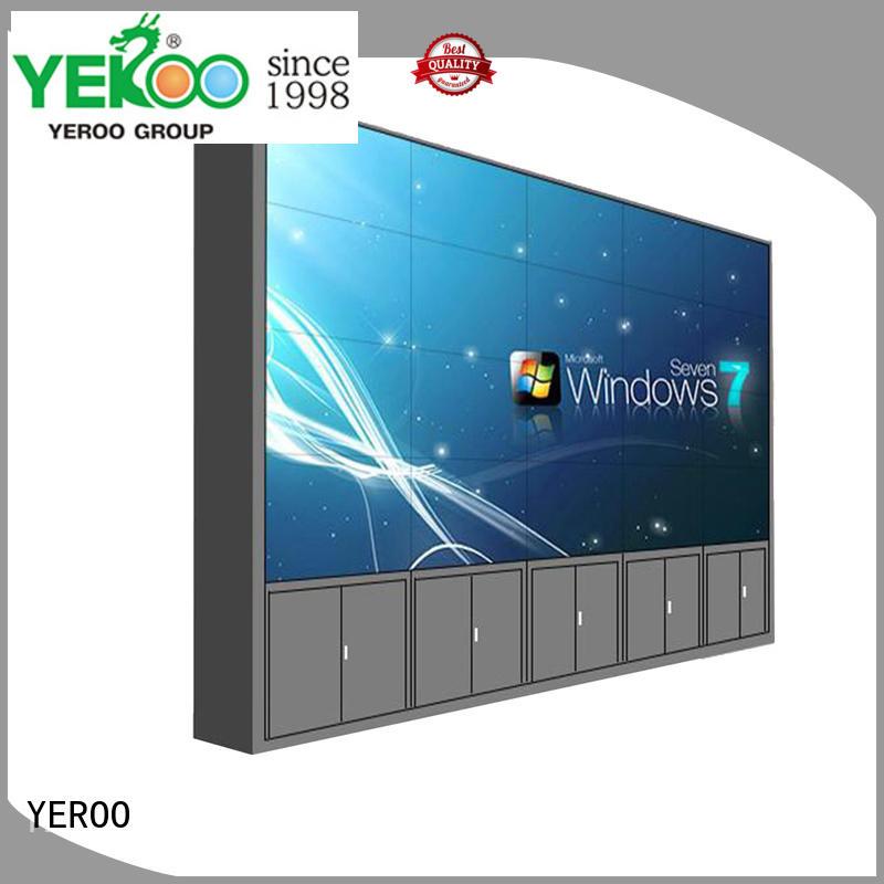 YEROO video wall screen street adverting