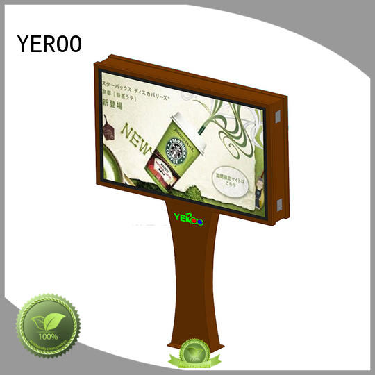 YEROO four sides scroll billboard double for highway