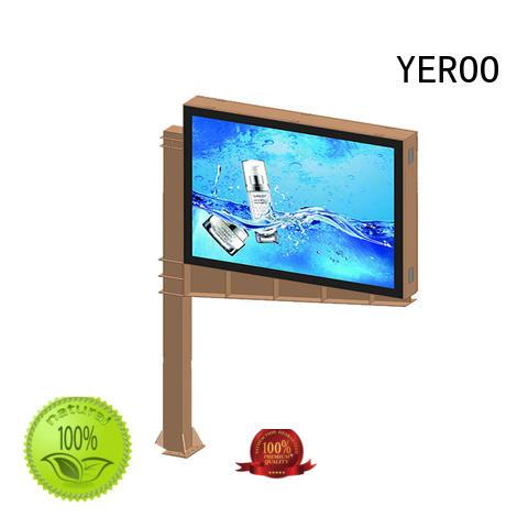 YEROO frontlight scrolling poster scrolling outdoor marketing