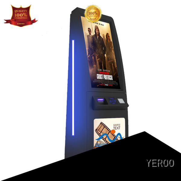 YEROO digital kiosk top brand for outdoor ad