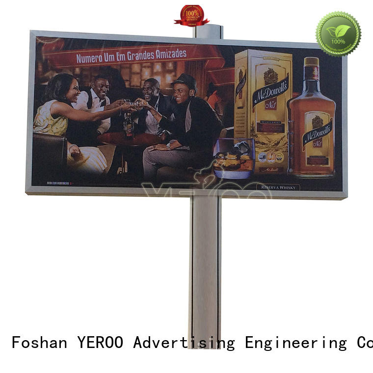 YEROO advertising billboard outdoor advertising
