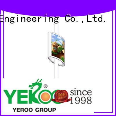 YEROO pole led display high quality
