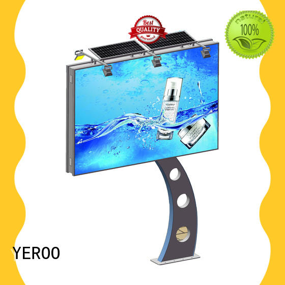 YEROO stand straight highway billboards manufacturer for city ads