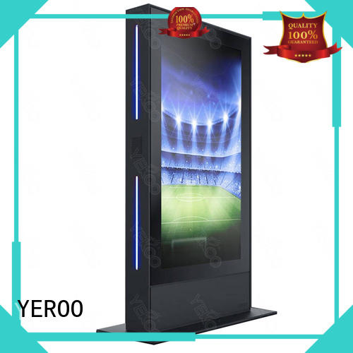 popular Outdoor LCD display touch for parking lot YEROO
