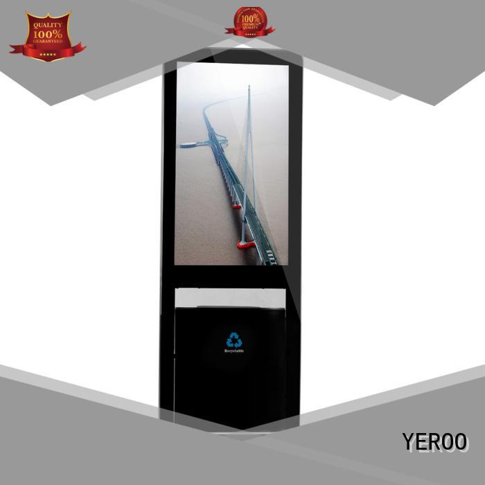 YEROO advertising kiosk digital signage totem signage smart shopping