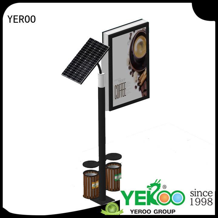 YEROO advertising led light box profile for advertising