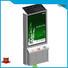 YEROO double sided Solar powered light box best quality for street ads
