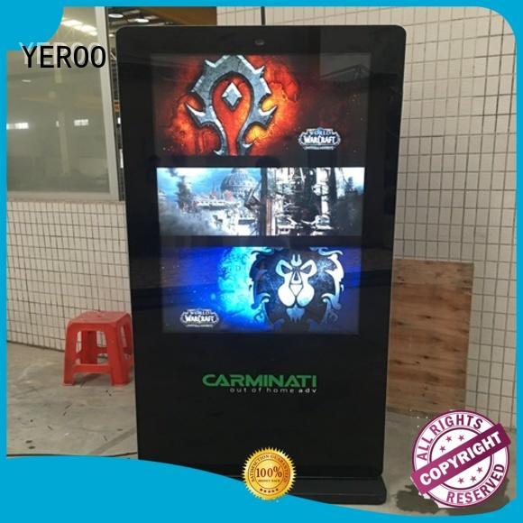 hot-sale digital kiosk best design for parking lot YEROO