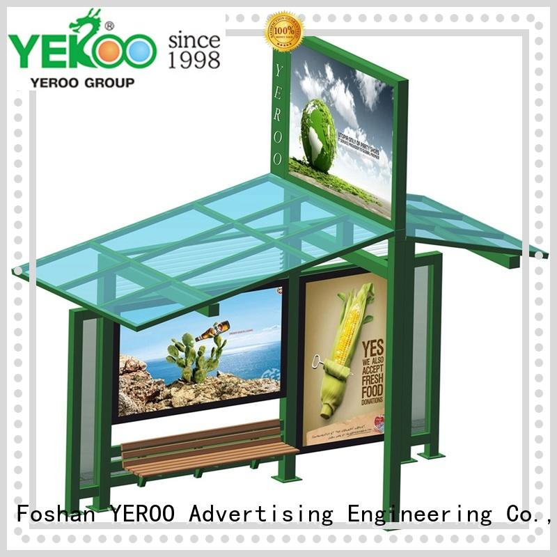 YEROO wholesale bus stop advertising top brand for suburb