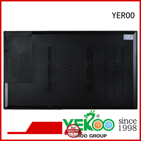 YEROO touch digital signage totem touch for advertising