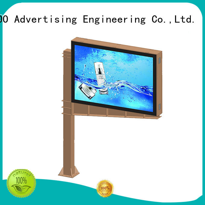 large size scrolling poster saving for highway