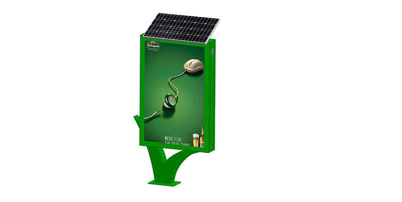 YEROO-Best Standing Light Box Street Adverting Solar Light Boxyr-slb-0007 Manufacture