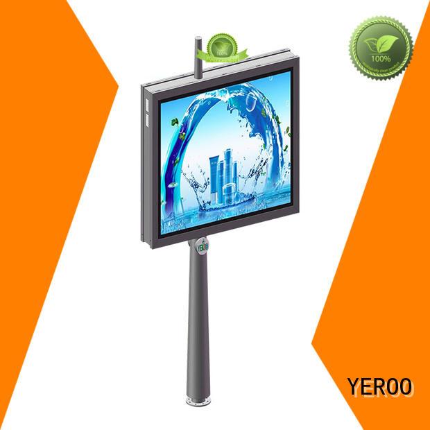 YEROO wholesale led light box panels effective for street ads