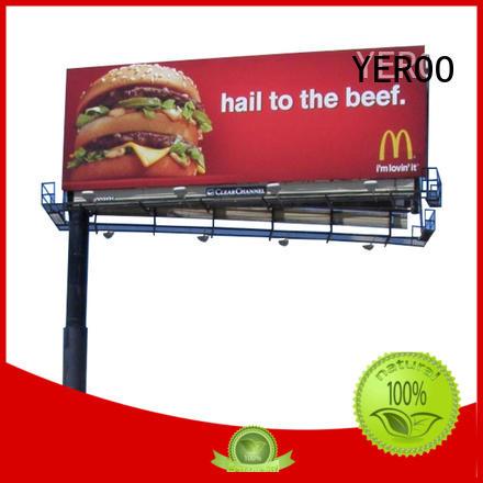 YEROO highway billboards for advertising